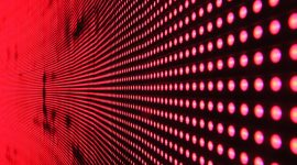 red dots led